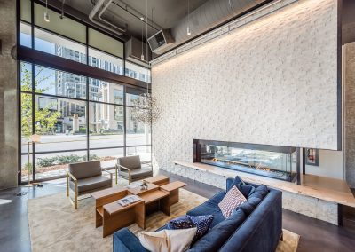 Lounge with a view at Alley 111 - Downtown Bellevue, WA