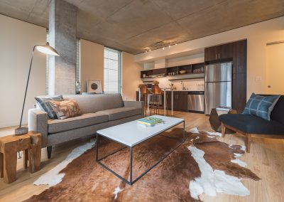 Modern apartment living in Downtown Bellevue - Alley 111